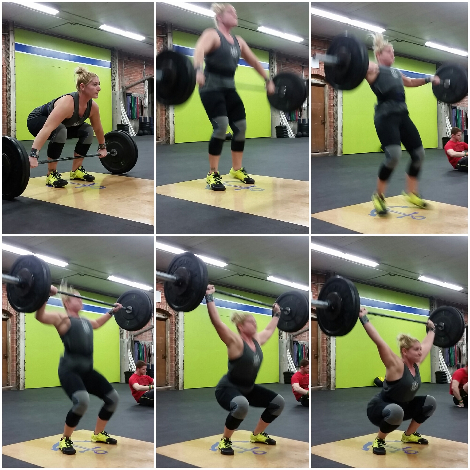 Crossfit squat snatch