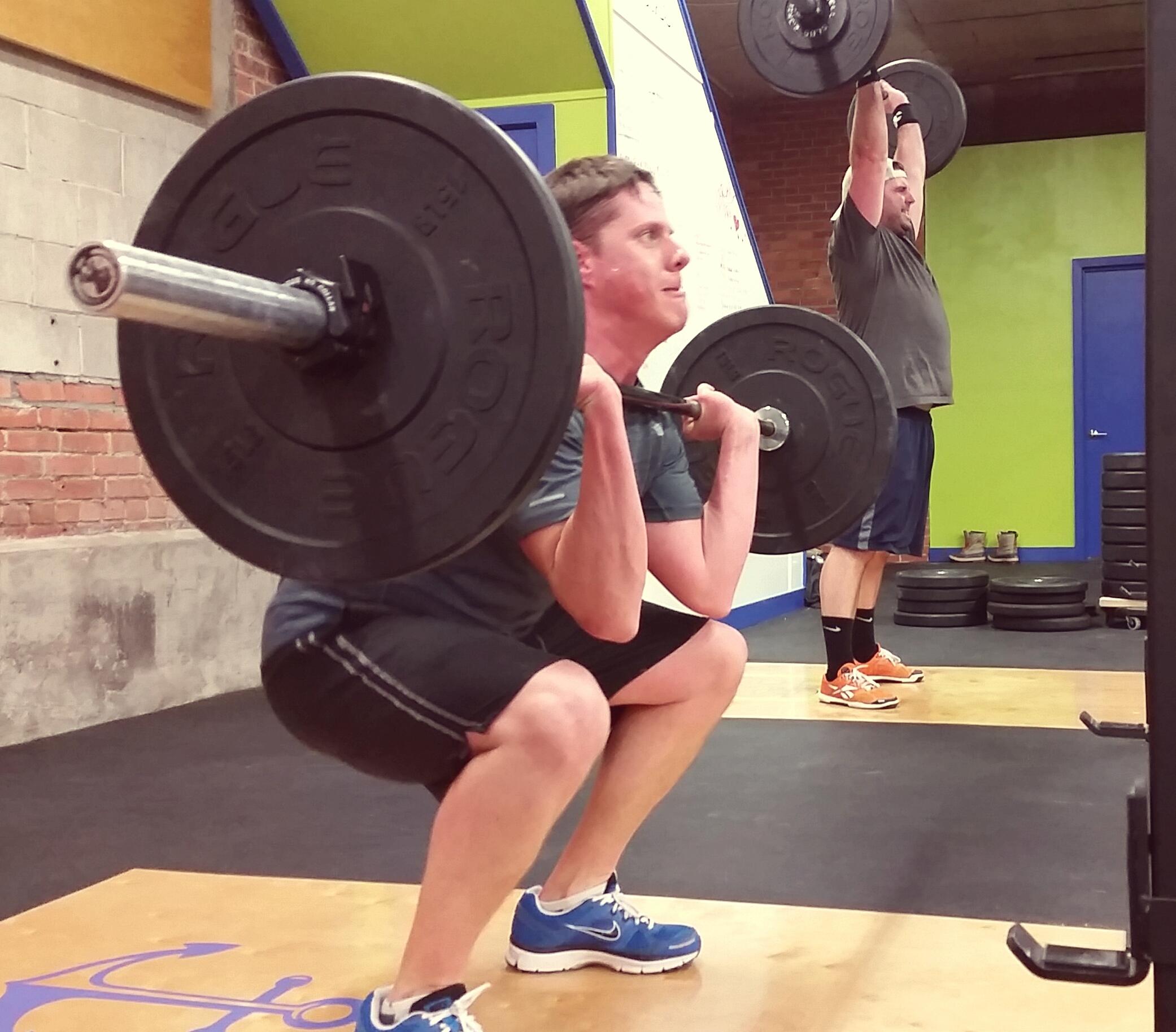 Crossfit front squat