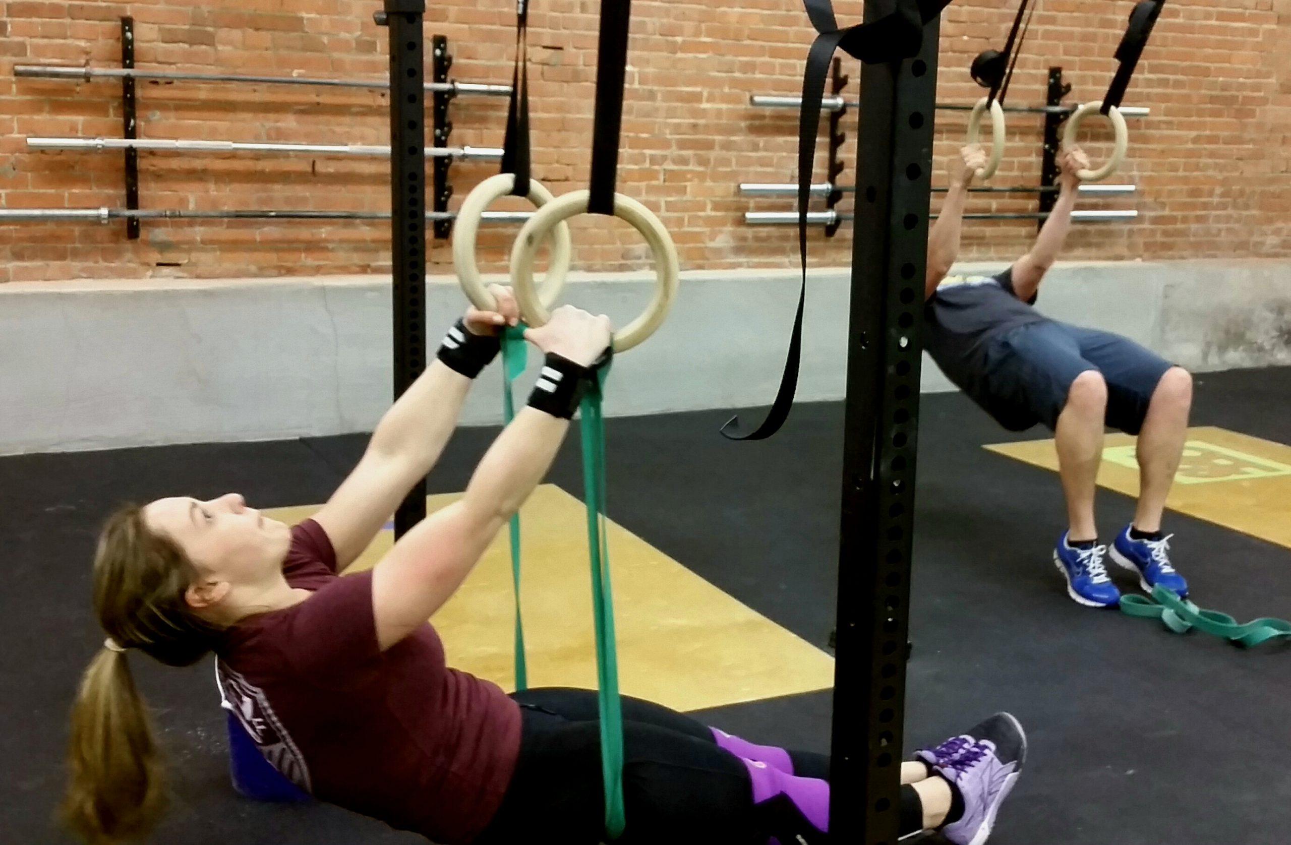 Crossfit muscle-ups
