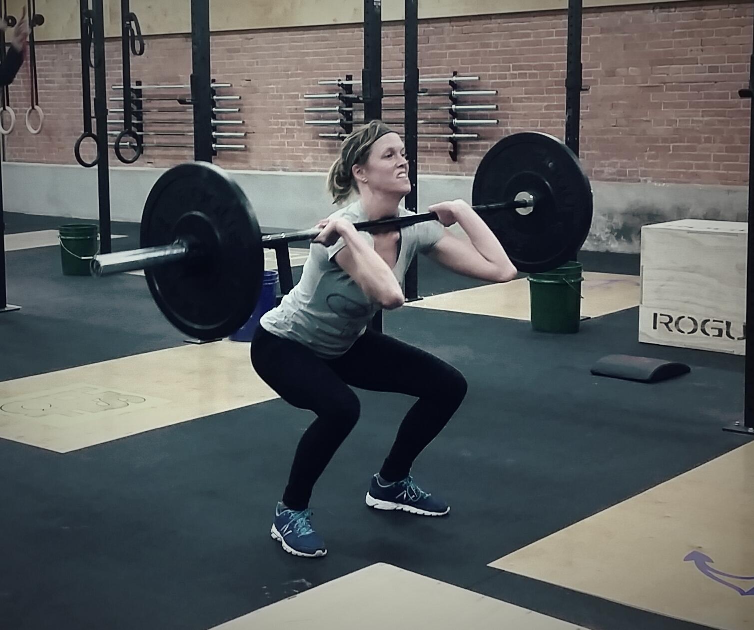 Crossfit squat cleans
