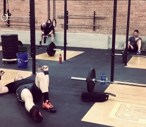 Crossfit post-workout