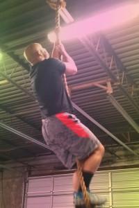 Rope climb at Harborside CrossFit