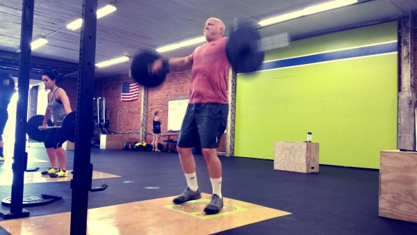 Snatches in the daily WOD