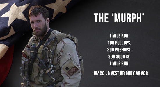 The Murph Workout on Memorial Day