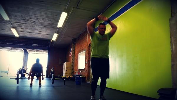 Partner Workouts at Harborside Crossfit