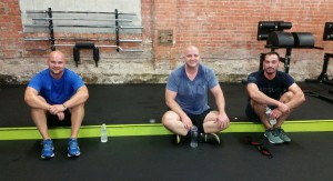 Harborside Crossfit members post WOD
