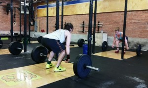 Barbell clean proper form in Crossfit