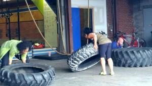 Crossfit tire flips