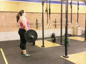 Deadlifts for WOD at Harborside Crossfit
